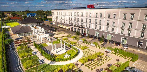 Zdjęcia z drona - hotel Lamberton