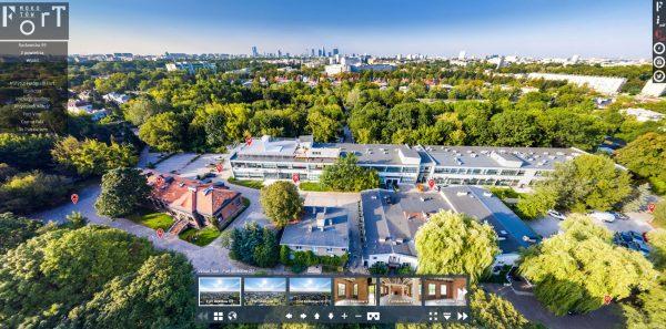 Spacer wirtualny po Warszawie - Fort Mokotów