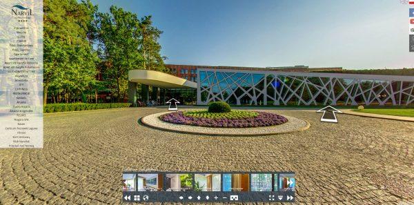 Spacery wirtualne w hotelach Warszawa - Hotel Narvil 2