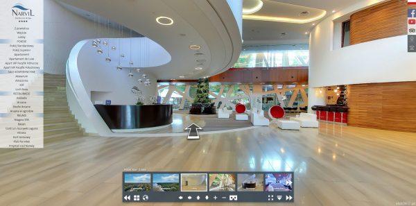 Spacery wirtualne dla hoteli Warszawa - Hotel Narvil 3