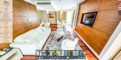 Spacer wirtualny Warszawa - Hotel Narvil