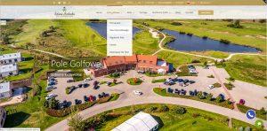 Sobienie Królewskie Golf&Country Club - website
